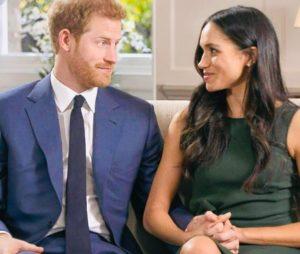 Prince Harry and Meghan Mark