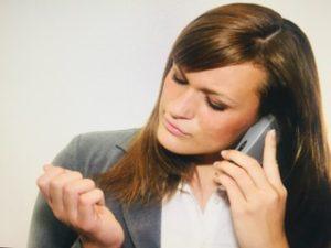 bored receptionist, poor communication, telephone body language, speaking to customers, representing company, be interested, listening skills, speech skills, improve telephone skills
